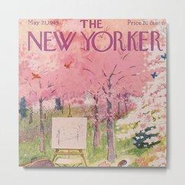 The New Yorker - 05/1949 Metal Print