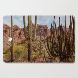 Cacti Variety Cutting Board