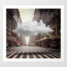 Under a Cloud II Art Print