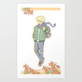 boku no hero academia bakugou Art Print