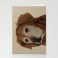 shadow Stationery Cards featuring Shadow by Ginny M