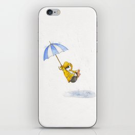 Puddle Jumping iPhone Skin
