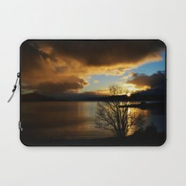 Sunset in Scotland Laptop Sleeve