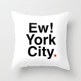 EW YORK CITY Throw Pillow