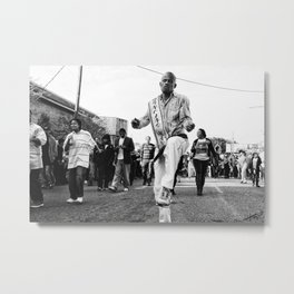 Dancing Man 504 Metal Print