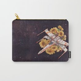 Flowers wing Carry-All Pouch