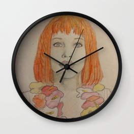 Leeloo Dallas Multi-Pass Wall Clock