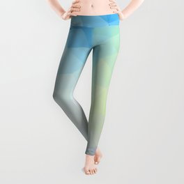 """""""Through the looking glass"""" triangles design Leggings"""