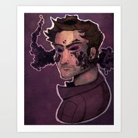 starlord Art Prints featuring Starlord by Livvy