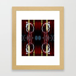 Fading Doubled Framed Art Print