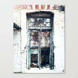Photography of Abandoned Place Canvas Print
