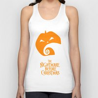 nightmare before christmas Tank Tops featuring The Nightmare before Christmas by Citron Vert