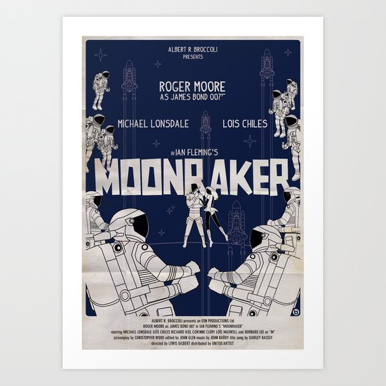 MOONRAKER Art Print