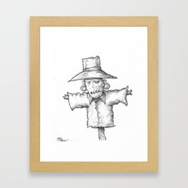 Scarecrow Recon #1 Framed Art Print
