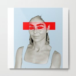 Woman N22 Metal Print