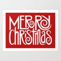 Merry Christmas Text White by floatinglemons