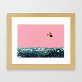 Higher Than Mountains Framed Art Print
