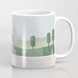 Smoky street Coffee Mug