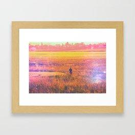 Between Nows Framed Art Print
