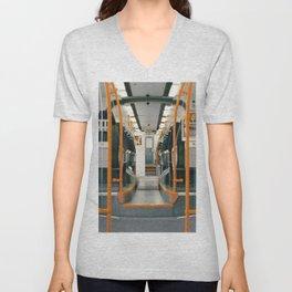 Ride the Subway Unisex V-Neck