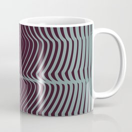 OpArt WaveLines 1 Coffee Mug