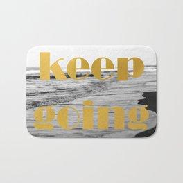 Keep Going Bath Mat