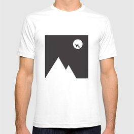 ABSTRACT_02_ THE NIGHT T-shirt
