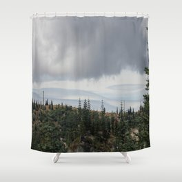 Out Over The Edge Shower Curtain