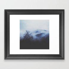 F O G G Y Framed Art Print