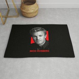 Formula One - Nico Rosberg Rug