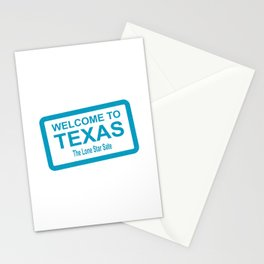 Welcome To Texas Stationery Cards
