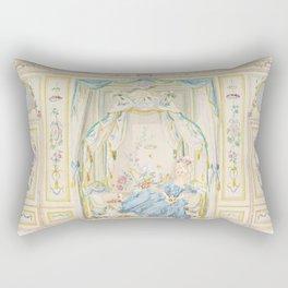 Marie Antoinette Petite Maison Rectangular Pillow