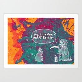 Happy birthday little one Art Print