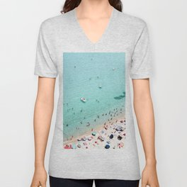 Beach Day Unisex V-Neck