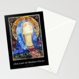 Our Lady of Broken Pieces Stationery Cards