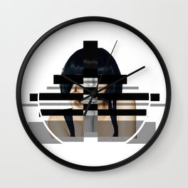 girl craze Wall Clock