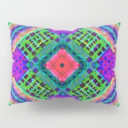 Emoji Glitch-O-Graph Pillow Sham