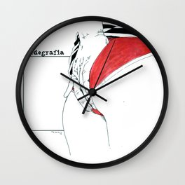 NUDEGRAFIA - 50 Wall Clock