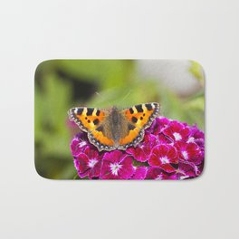 Butterfly small Tortoiseshell II Bath Mat