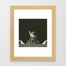 time takes its toll Framed Art Print