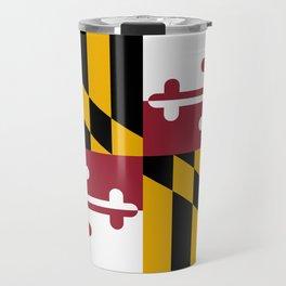 Flag of Maryland Travel Mug