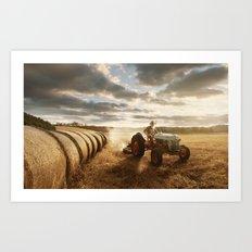 Farmer Art Print
