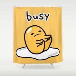Gudetama Busy 2 Shower Curtain