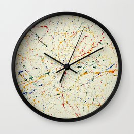 Marble Madness Wall Clock