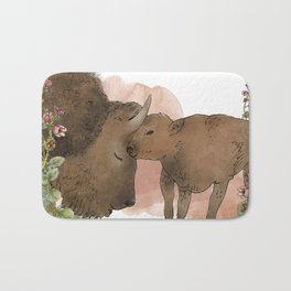 The American Bison Bath Mat