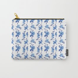 CB x SK BLUE FLORAL Carry-All Pouch