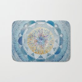 Winter's Thaw Mandala Bath Mat