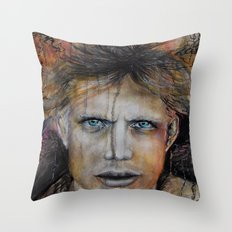 Marble Man Throw Pillow