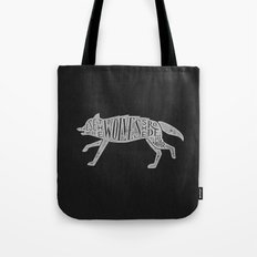 These Were The Wolves She Rode to War - Wolf by Wolf Tote Bag