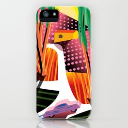 Sunset Curve iPhone Case